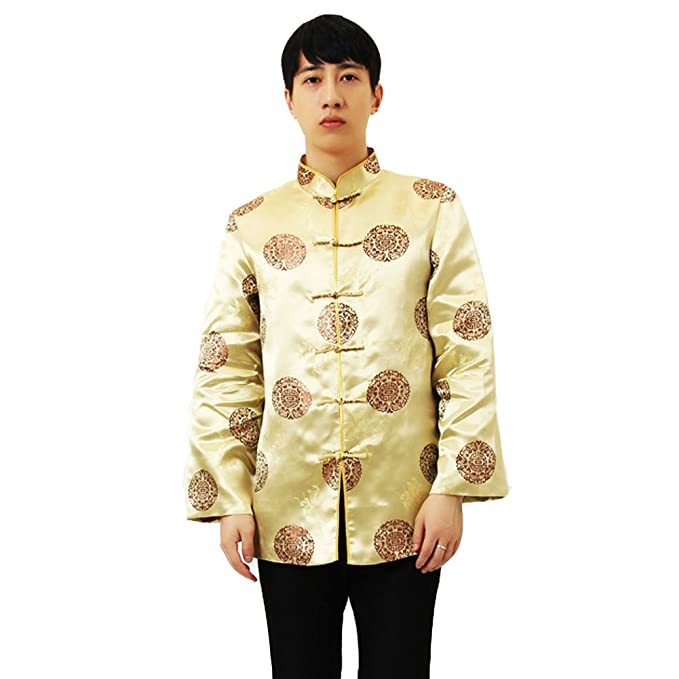 Amazon.com: excellanyard clásico chino Tang traje chaquetas ...
