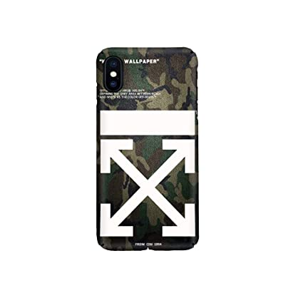 new style 406fc fee89 Amazon.com: Off-White c/o Virgil Abloh Camouflage Arrows Logo Mobile ...
