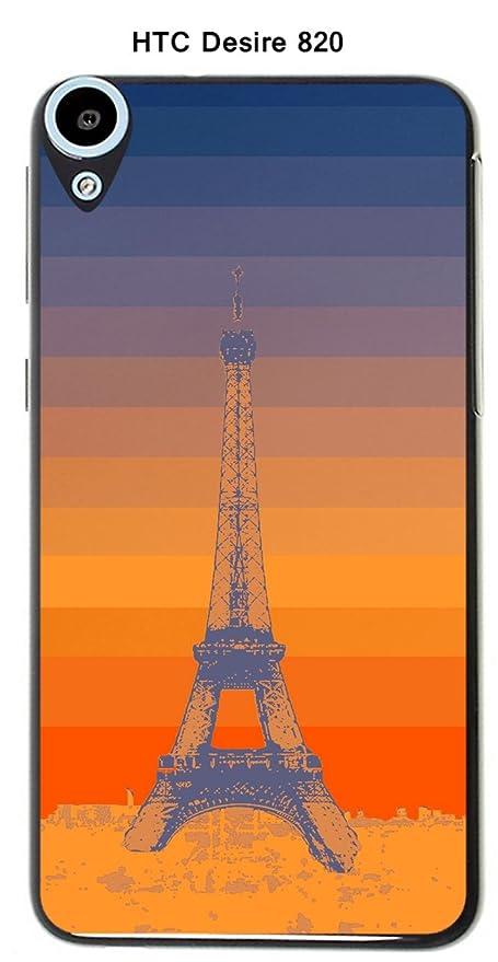 Onozo Carcasa HTC Desire 820 Design Paris Torre y fondo ...