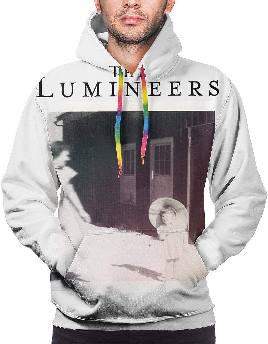 LEOUMAOYE The Lumineers Mens 3D All Print Hooded Sweatshirt