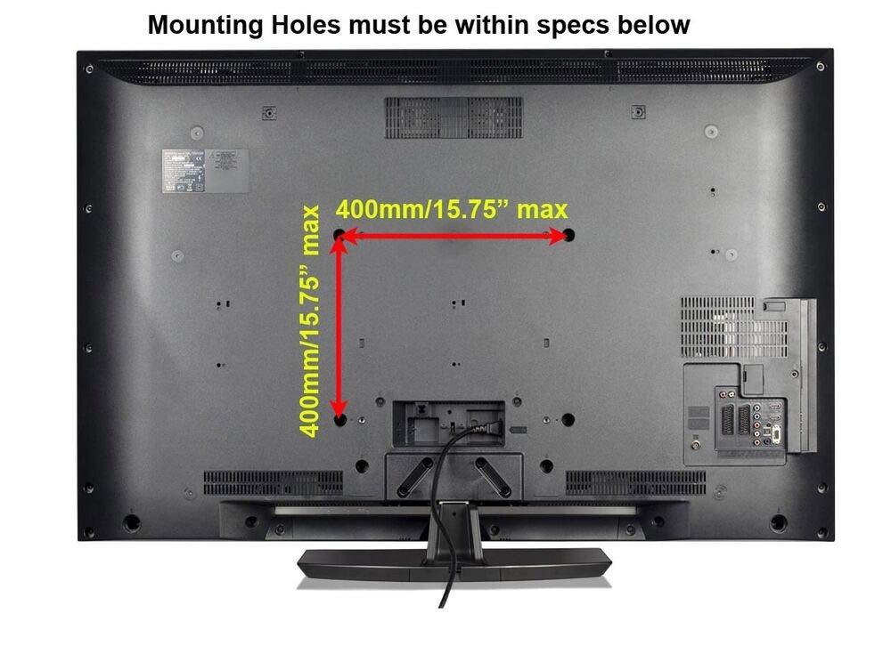 Impact Mounts Full Motion TILT Swivel Plasma LCD LED TV Wall Mount Bracket 40 42 46 47 50 55 D03656. by Impact Mounts