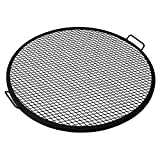 Walden BBQ Cooking Fire Pit Grilling Grate - Outdoor Grilling - Fireplace Cooking - Cooking with Fire - Fire Grate (34 inches)
