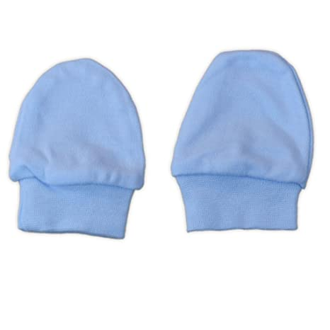 Soft Touch Baby manoplas 2 unidades en color rosa blanco o azul azul ...