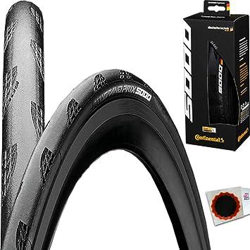 Continental Grand Prix 5000 23-622 Faltreifen black chili compound schwarz conti