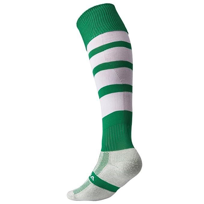 KooGa- Calcetines de deporte técnicos para niños (fútbol, rugby, hockey) (