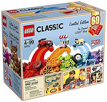 Amazon.com: LEGO Classic Bricks on a Roll 10715: Toys & Games