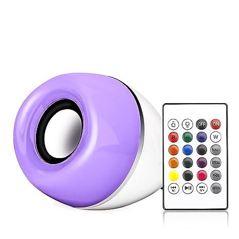 Amazon.com: Bombilla de luz musical., L0904092, 6.00watts ...