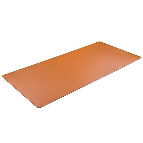 "Fleeken Non-Slip PVC Soft Writing Mat Desk Pad Clear 34/""x17 Round Edges"