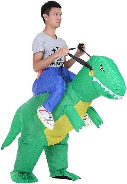 Anself Disfraz Inflable de Dinosaurio para Fiesta / Halloween / Cospaly / Carnaval