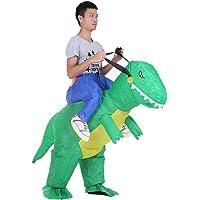 Anself Gonfiabile Unicorno Costume per Halloween Partito del Vestito Operato, Adulto/Bambino