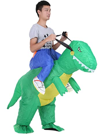 3f39f0f03 Anself - Disfraz Inflable de Dinosaurio para Fiesta   Halloween   Cospaly    Carnaval