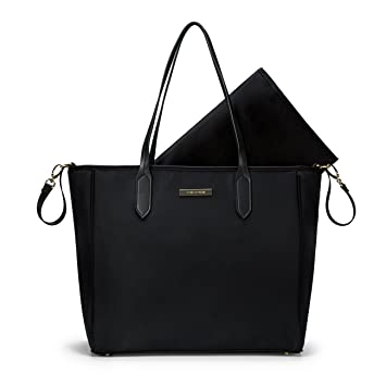 Amazon.com   mommore Diaper Bag Large Totes Handbag with Changing Pad for  Baby b6da1a5ddbb38