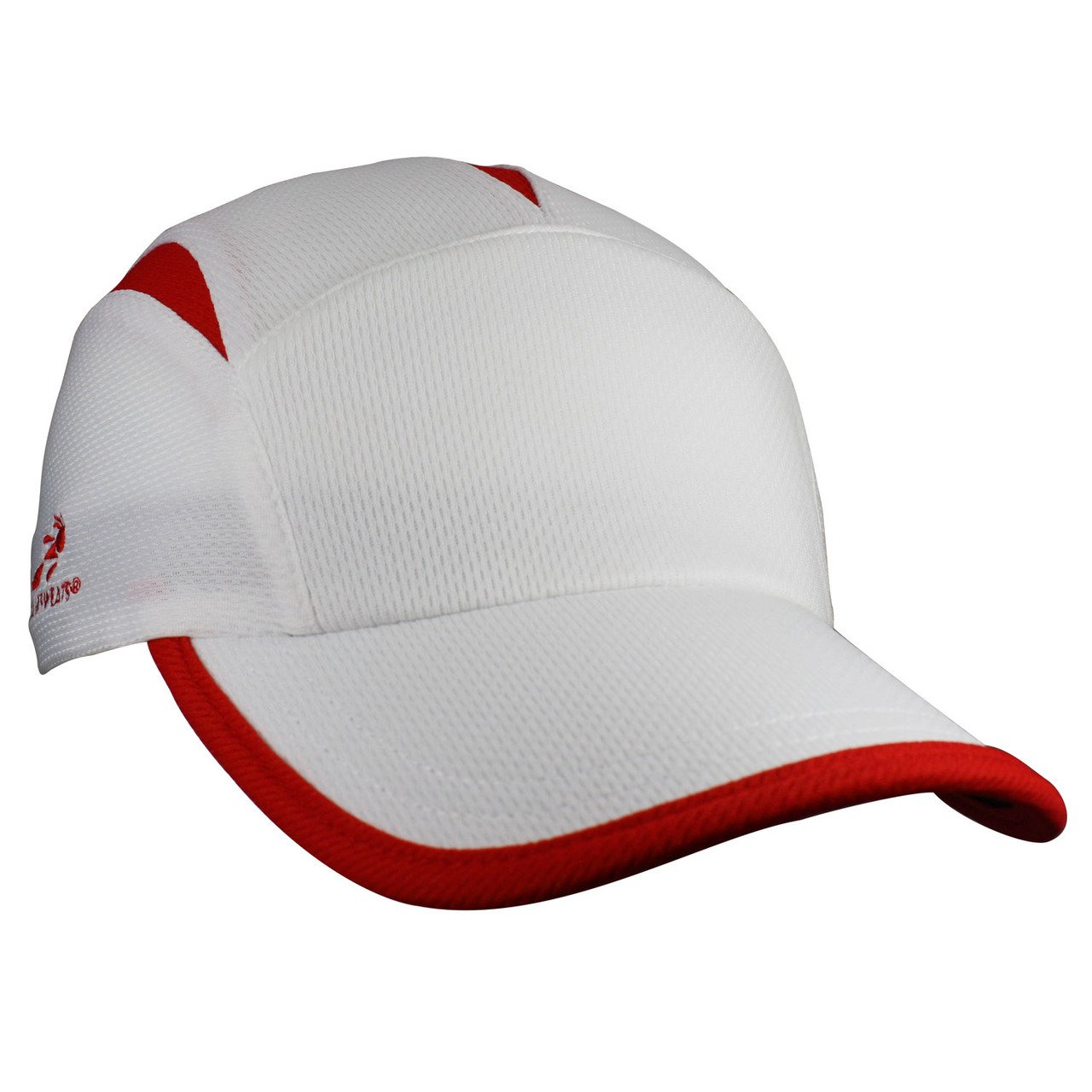 Headsweats Go Hat, White/Red