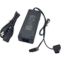 New Dual D-Tap (P Tap) Travel Charger Compatible Sony V-Mount / V Lock and Anton Bauer Gold Mount Batteries with 2-Prong…