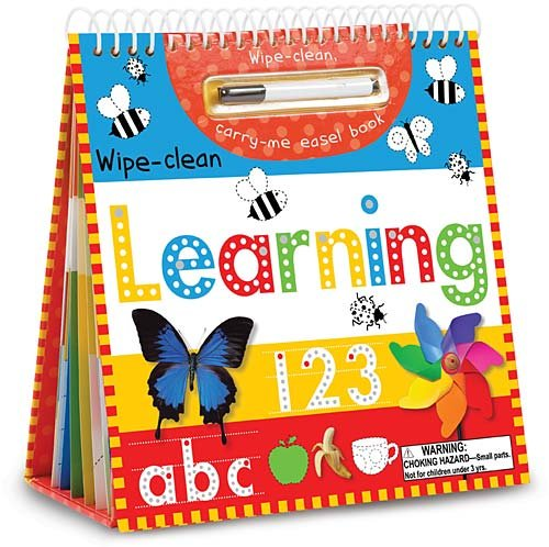 Wipe Clean Learning Easel Carry