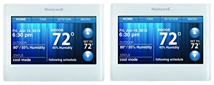honeywell th9320wf5003 wi fi 9000 color touch screen programmable rh amazon com