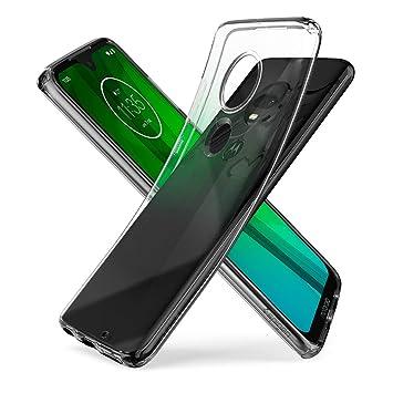 Spigen [Liquid Crystal] Case for Moto G7 / Moto G7 Plus, Crystal Clear Slim  Flexible TPU Transparent Phone Cover for Moto G7 Case Moto G7 Plus Case