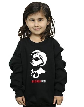 5004fb1666296e Absolute Cult Disney Mädchen The Incredibles 2 Incredible Mom Sweatshirt  Sweatshirts: Amazon.de: Bekleidung