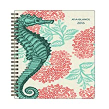 At-A-GLANCE 128F-200-16 2016 Weekly/Monthly Planner, Thomas Paul Collection, 4-7/8x8-Inch
