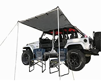 Amazon Com Tentproinc Car Side Awning Tent Designed For Jeep