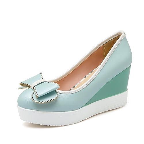 Talla Azul Zapatos Color 1to9 Mujer Para Z0rzwwq8 Amazon De Es 34 Vestir O0nwPZNk8X