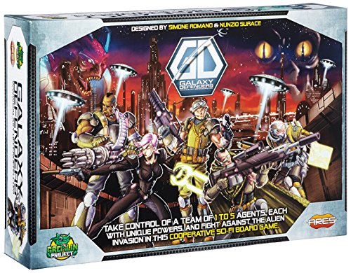 Galaxy Defenders Board Game (Gears Of War Board Game Mission Pack)