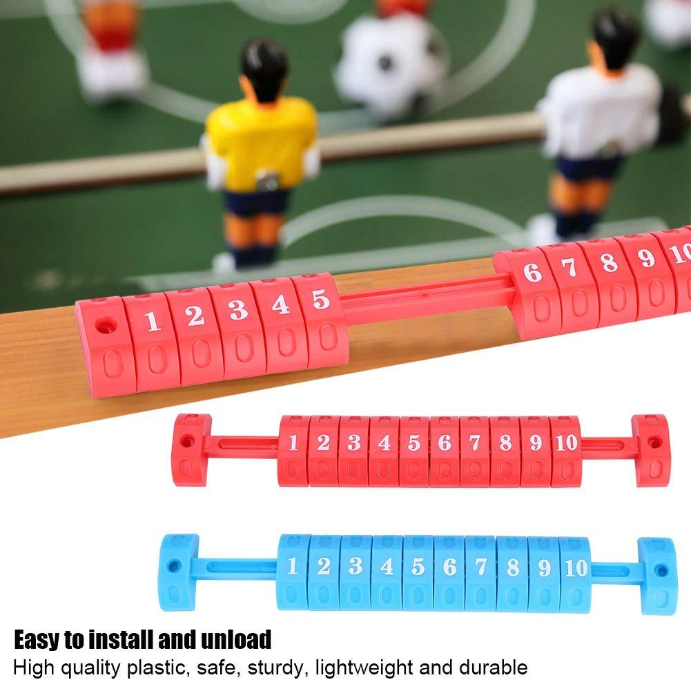 Bnineteenteam Partidos de f/útbol de Mesa 2 Cada Juego para Cualquier Partido de f/útbol de Mesa para anotar