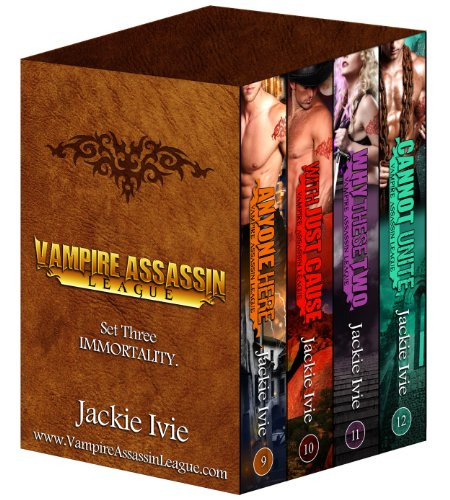 Four great freebies for your Saturday pleasure starting off with Immortality (Vampire Assassin League Bundle, 3) by Jackie Ivie