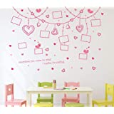 Solimo Wall Sticker for Living Room (Capture The Memories on Wall, Ideal Size on Wall - 187 cm x 130 cm)