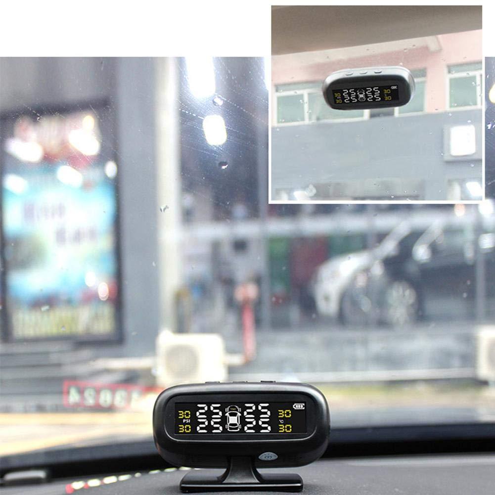 KFZ SUV 332PageAnn tpms reifendruckkontrollsystem reifendruck kontrollsystem mit 4 Externe Sensoren LCD Display Universal f/ür Auto Solar und USB 2 Arten von Ladeverfahren
