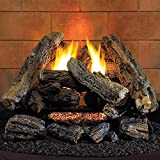 Hearth Sense VF18NA Vent-Free Set Gas Log 20.5 x 14 x 10.5 inches Brown