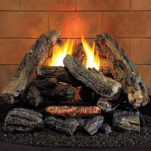 (Hearth Sense VF18NA Vent-Free Gas Log Set)