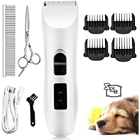 Nicewell Cat Shaver Dog Clippers Grooming Set (Concise White)