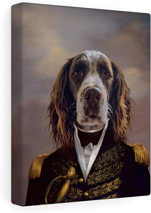 ATC sized up to large Stylistic Pet Portraits