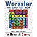 Worzzler (English, Sampler, 320 Puzzles): Word Search meets Sudoku