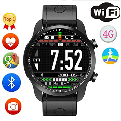 Linbing123 Bluetooth Smartwatch 4G Todas Las Redes Universal ...