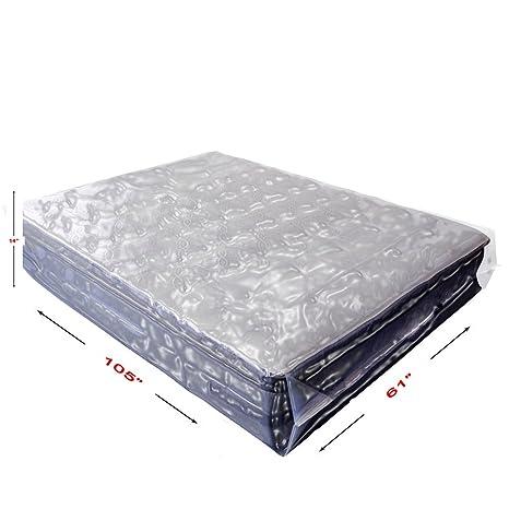 Colchón de grado comercial basix365 2 Pack bolsa para móviles, almacenamiento, chinches control,
