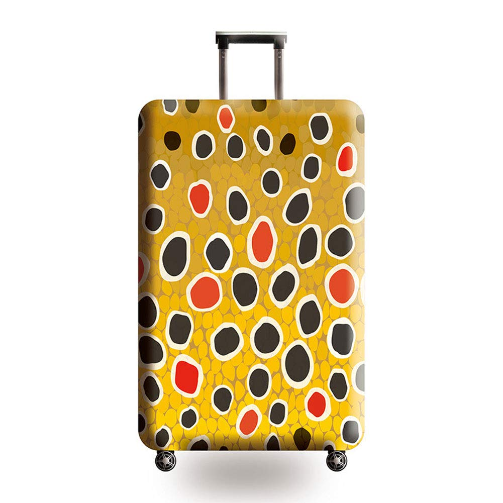 HBWZ Travel Luggage Cover Suitcase Protector 3D Luggage Protector Suitcase Cover 18-32 Inch,C,M