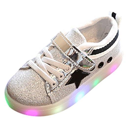 4 opinioni per Scarpe per bambini Deylay Boys Girls Le scarpe da tennis LED