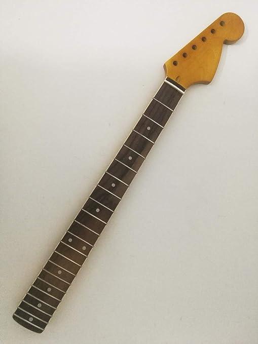 Mástil de guitarra eléctrica de arce, 21 trastes 25.5 pulgadas ...