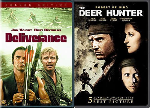 70S Friends Stories With Bad Endings 2 Dvd Bundle  The Deer Hunter   Deliverance  Deniro  Walken  Streep  Voight  Reynolds