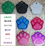 Pet ID Tag Custom for Dog Cat Personalized | Many