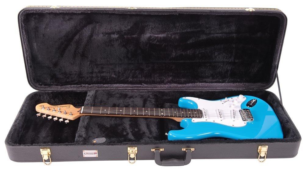 Kinsman CSG6 Standard - Estuche rígido para guitarras eléctricas ...