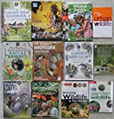 WILDLIFE IN THE GARDEN - an excellent collection of twelve titles : Birdfeeder Handbook, Back Garden Nature Reserve, Garden Birds, Springwatch, Living With Wildlife etc.