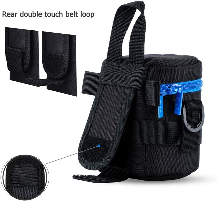Camera Lens Pouch JJC DSLR Camera Lens Bag Case for Tamron 150-600mm Sigma 150-500mm 150-600mm any other Lens with 4.88x12.20/""