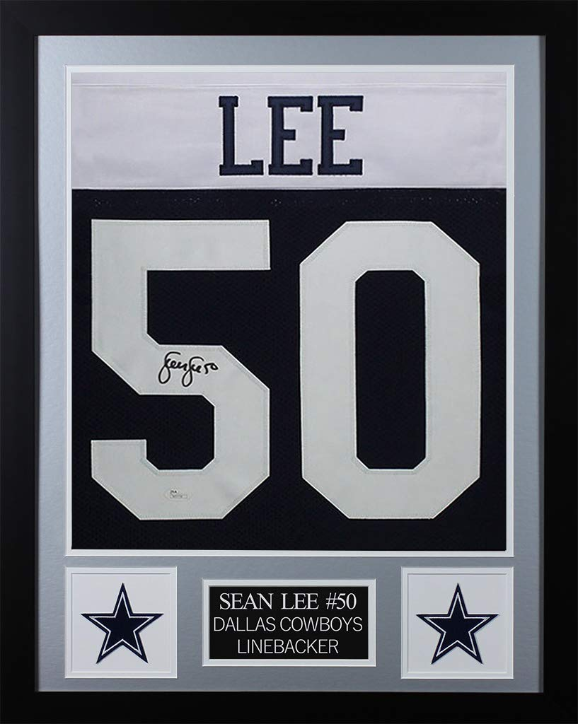 quality design 85d6f cd52c Sean Lee Autographed Thanksgiving Dallas Cowboys Jersey ...