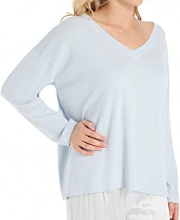 product image for PJ Harlow Women's Lucy Oversized V-Neck Shirt - PJJ07