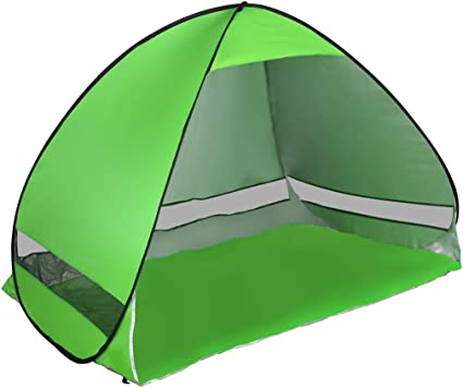 Pop Up Beach Tent Sun Shelter Anti-UV Outdoor Camping Shade Hiking Garden Tent