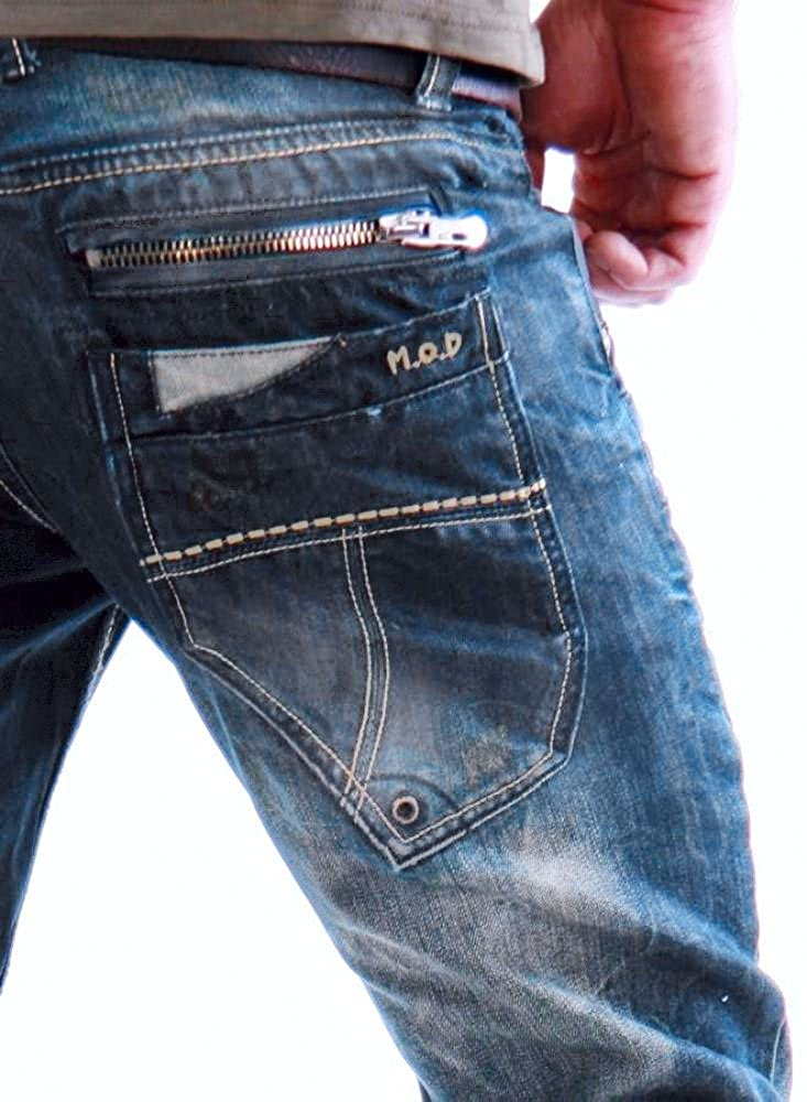 Relaxed M.O.D Jeans Uomo