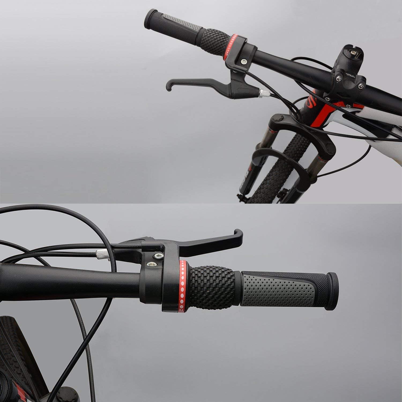 Kurze Schaltgriffe 1 Paar MTB Fahrrad Klapp Fahrrad Lenkergriff Lange